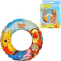 """Надувний круг для плавання """"Winnie Pooh"""" 58228 (Intex)"""