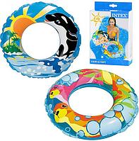 Надувной круг для плавания 58245 Intex (2 вида)