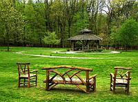 Лавки, столы и скамейки садовые