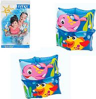 """Детские надувные нарукавники Intex 59650 """"Рыбка"""""""