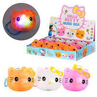 Музыкальная игрушка Hello Kitty Musik box 3 цвета LX307