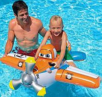 Детский надувной плотик Самолет Planes Intex 57532