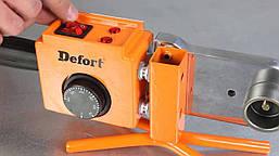 Аппарат сварочный для пластиковых труб Defort DWP-2000