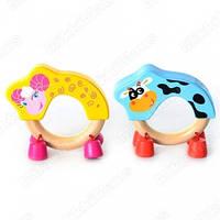 Деревянная игрушка Погремушка с колокольчиками BK Toys MD 0503
