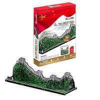 Настольная игра Пазлы 3D Великая Китайская стена 75 деталей Cubic Fun MC 167 H
