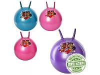 Мяч для фитнеса-45см WX 0077 с рожками, WX, 4 цвета, 530г, в кульке, 18-15-6см