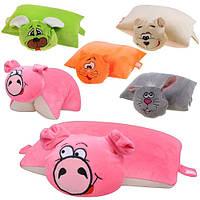 Мягкая подушка-игрушка Трансформеры 5 видов Союз производителей игрушек 13ип01ив