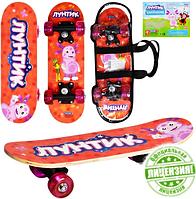 Скейт Bambi Лунтик LT 0029