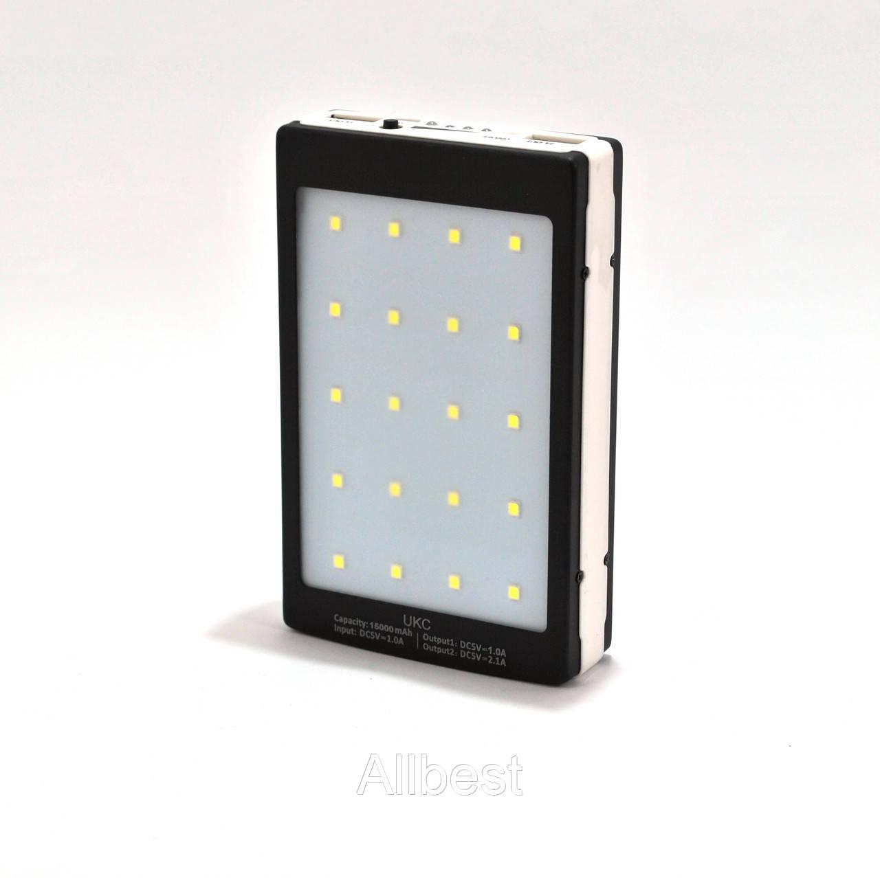 Зарядное устройство Power Bank Solar Charger 15000 mAh