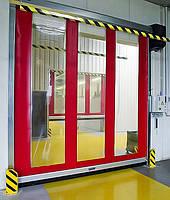 Скоростные ПВХ-ворота Alutech Albany Door Systems, фото 1