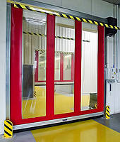 Скоростные ПВХ-ворота Alutech Albany Door Systems