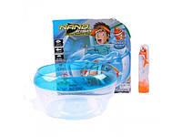 Водоплавающая игрушка Рыбка в аквариуме Nano Fish JH 6603