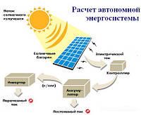 Типовые солнечные системы электропитания