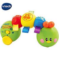 Музыкальная игрушка Гусеница на колесиках VTech 100603, фото 1