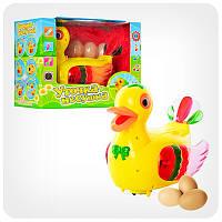 Музыкальная интерактивная игрушка Утка несет яйца Metr+ 20218