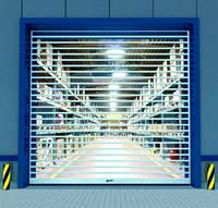 Скоростные ворота Alutech RapidRoll 392 2,8м*2м, фото 1