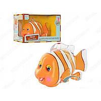Интерактивная игрушка Рыбка-клоун Metr+ 998