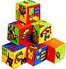 """Набор мягких кубиков 6 штук """"Азбука"""" Умная игрушка"""