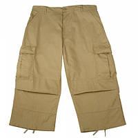 Капри Rothco 6-Pocket BDU 3/4 Pants Khaki