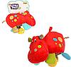 """Подвеска-погремушка с растяжкой на коляску """"Бегемотик"""" 0121-NI  (WinFun)"""