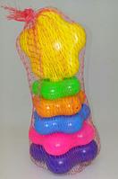 """Детская игрушка Пирамидка""""Ромашка №1""""019/4, ТМ""""Бамсик"""""""