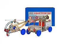 Конструктор металлический Авто 82 детали ТехноК 0625