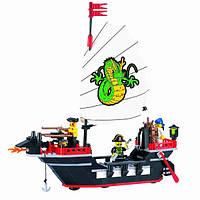 Конструктор Пиратский корабль 211 деталей BRICK 301/298784