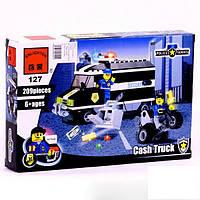 Конструктор Полицейская машина 209 деталей BRICK 457833/127