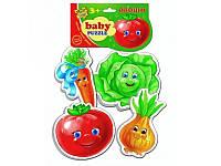 Пазлы для малышей Овощи Vladi Toys VT1106-03