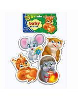 Пазлы для малышей Пушистики Vladi Toys VT1106-05