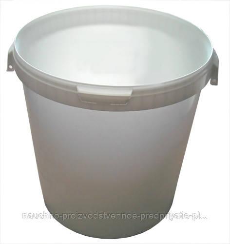 Ведро пищевое с крышкой  33 литра.