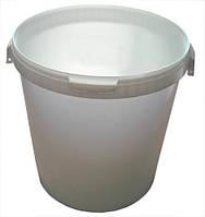 Ведро пищевое  с крышкой  33 литра., фото 1