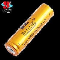 Акция! При покупке 2-х аккумуляторов BAILONG 18650 8800 mAh ФОНАРИК BL 8626 в Подарок!