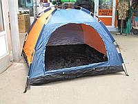 Палатка туристическая 4-х местная, зонт, летняя, 2*2*1,35, фото 1