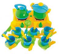 Плита с посудой Kinder Way 04-415