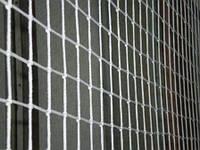 Сетка оградительная (разделительная) ячейка 60х60 д-р шнура 3,5 белая