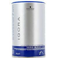 IGORA Vario Blond Plus Беспылевой порошок, осветление до 7 уровней (голубой) 450 гр