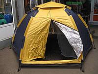 Палатка туристическая 8-ми местная, зонт, летняя, 2,7*2,7*1,6