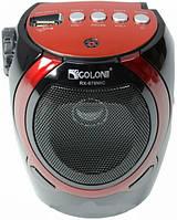 """Колонка универсальная портативная """"GOLON RX-678"""", радио, USB/SDcard, с фонариком"""