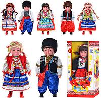 """Кукла музыкальная """"Дети Украины"""" Катеринка, Олесь (M 2132 UI)"""
