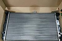 Радиатор охлаждения Ваз 2110,2111,2112 ЛУЗАР инжектор (алюминиевый) (LRc 0112), фото 1