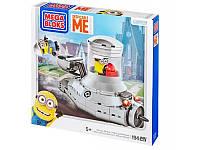Конструктор пластиковый Minions «Посіпакомобіль» з аксесуарами Mega Bloks
