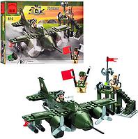 Детский конструктор BRICK 810 Истребитель, 225 (деталей)