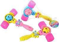 Детский музыкальный молоточек с погремушкой 020 (3 цвета)