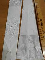 Перчатки свадебные #20 белые