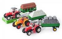 Трактор 986-111-2-3 A с прицепом