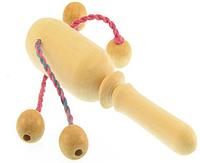 Деревянная игрушка Погремушка с бусинками 171821 (ТМ Дерево)