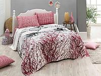 Постельное белье Eponj Home Pike - Palvin Beyaz евро размер
