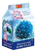 """Набор для опытов """"Магический кристалл. Синий"""" 0271 Ранок Креатив"""