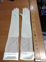 Перчатки свадебные #21 айвори